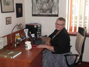 Magdalena Miller, Direktorin der Stadtbibliothek Gorlice