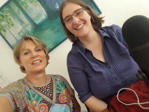 Selfie: Annika von Redwitz (links) und Jana Stahl (rechts).