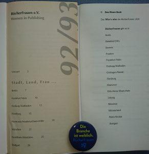 Regionalgruppen im Blauen Buch