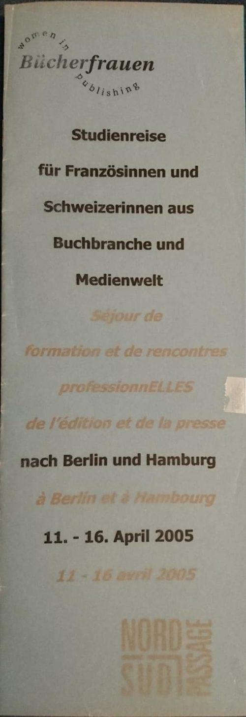 Studienreise 2005