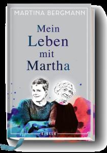 Das Cover zeigt im unteren Teil Martina (links) und Martha (rechts), die Heldinnen des Buches.