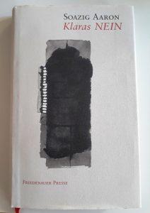 """Buchcover des Buchs """"Klaras Nein"""" von Soazig Aaron"""