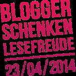 """Logo der Aktion """"Blogger schenken Lesefreude"""