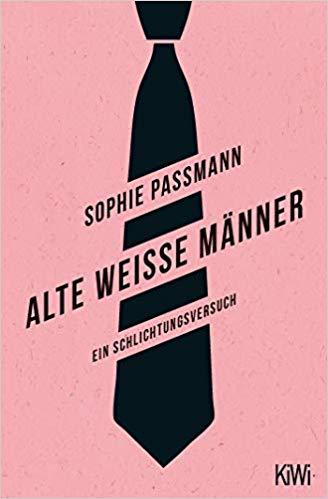 Das Cover zeigt eine schwarze Krawatte auf rosa Grund.
