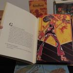 """Holzschnitt von Tita do Rêgo Silva aus dem Buch """"Kindheit"""" zum Text von Peggy Parnass"""