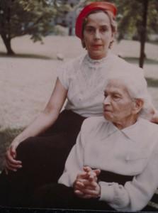 Elise Dosenheimer und Nichte.