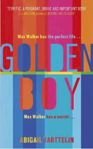 """Buchcover des Buchs """"Golden Boy"""" von Abigail Tarttelin."""