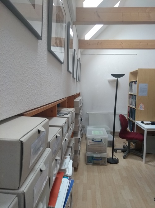 eine weitere Archiv-Ansicht der Bibliothek