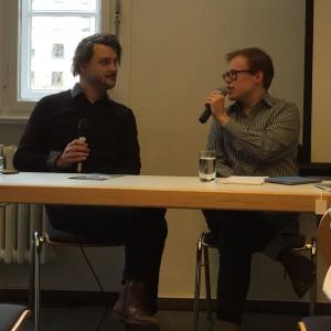 Tilman Rammstedt und Tony Stubenrauch