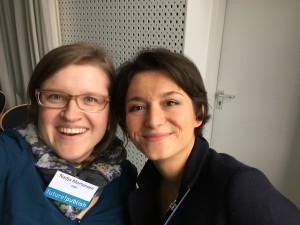 Nadja Mortensen und Denise Sudau