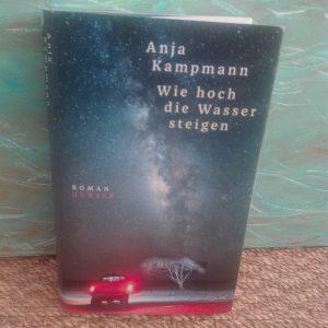 Cover des Buchs Wie hoch die Wasser steigen von Anja Kampmann