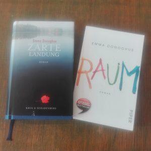 Cover der beiden Bücher Raum und Zarte Versuchung