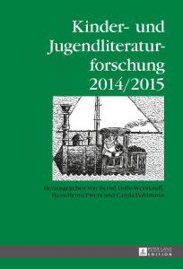 Buchcover vom letzten Band der Kinder- und Jugendliteraturforschung 2014/15