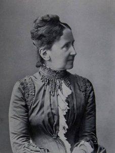Auf dem Bild ist das Porträt von Luise von Baden zu sehen.
