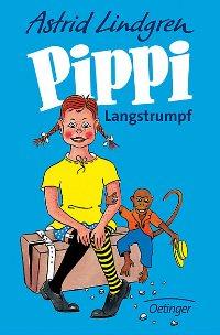 Astrid Lindgren: Pippi Langstrumpf. Cover: Oetinger Verlag.