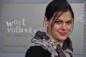 Pia Christ, Mitinhaberin der Literaturagentur wortvollendet