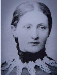 Das Bild zeigt ein Porträt von Rahel Straus, geborene Gothein.