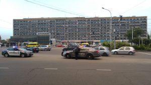 Postsowjetische Gebäude in Tiflis