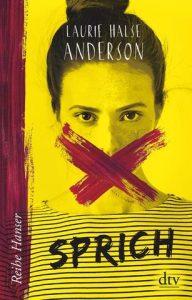Das Titelbild des Buches zeigt eine junge Fraue mit durchgestrichenem Mund.