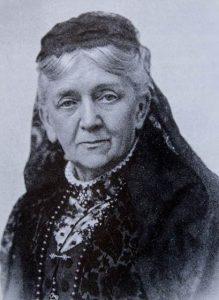Auf dem Bild ist ein Porträt von Anna Blum zu sehen.