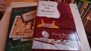 Das Foto zeigt Comicbücher von Alison Bechdel.