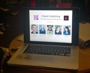 Den Blick hinter die Kulissen gab es im Rahmen der 1. Langen Nacht des E-Books in Hamburg.