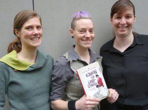 "V.l.n.r.: Henriette Dyckerhoff, Theresa ""Resi"" Amrehn, Nadine Wedel. Foto: Gaby Bohle"