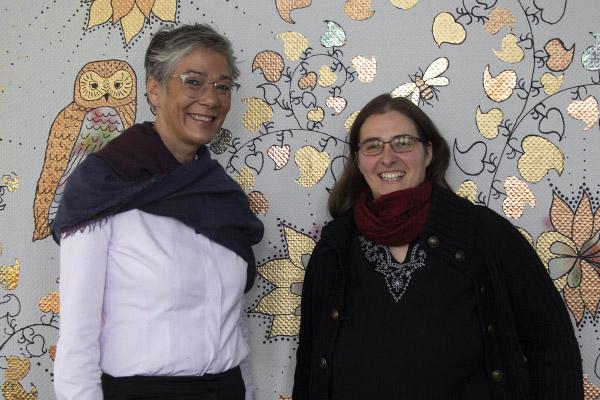 Zu sind: Karin Schmidt-Friderichs und Jana Stahl