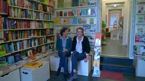 Inhaberinnen des Buchpalasts  Friederike Wagner und Katrin Rüger
